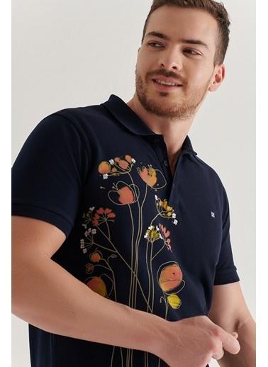 Avva Erkek  Polo Tişört A11Y1081 Lacivert